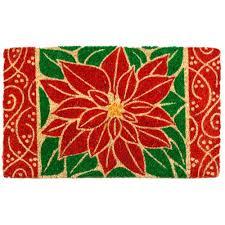 Disney Doormat Christmas Rugs U0026 Doormats Indoor Christmas Decorations The