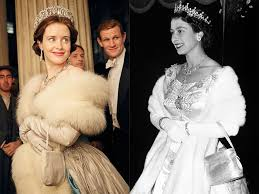 the cast of the crown vs the royals vogue
