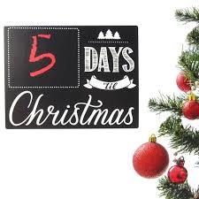 countdown to christmas day chalkboard wall sticker 8 inch www countdown to christmas day chalkboard wall sticker 8 inch