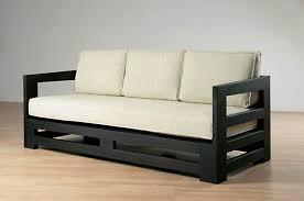 canapé en bois simple et beau canapés mobilier en bois tendance