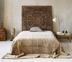 Carved Wood Headboard Carved Wood Headboard By Summeryeah For The Bohemian And