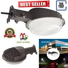 best led dusk to dawn security light led yard light security light dusk to dawn 5000 lumen photo cell