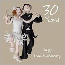 30th wedding anniversary card co uk kitchen home