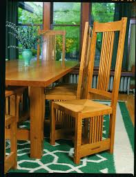 Free Plans For Outdoor Table And Chairs by Free Plan Arts And Crafts Inspired Chair Finewoodworking