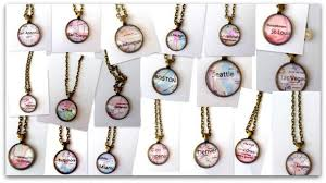 create your own necklace create your own city necklace for 10 99 shipping money