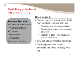 Apply Resume Online by Applying For Federal Jobs Slide Show101309