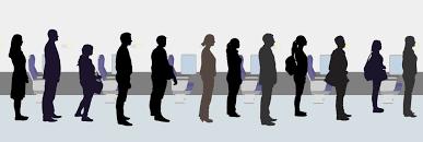 standing means detraining or please don u0027t queue