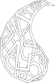 geometric paisley coloring free printable coloring pages