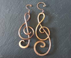 copper treble clef ornament tracery 157