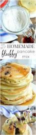 Pancake Flour Homemade Fluffy Pancake Mix Sugar Dish Me