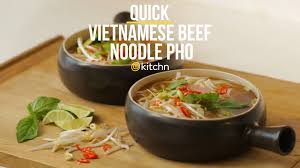 how to make quick vietnamese beef noodle pho kitchn