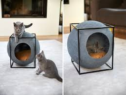 Modern Cat Bed Furniture by Stylish Cat Bed For Your Modern Home Also Provides Jobs To People