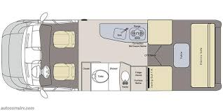 Type B Motorhome Floor Plans D1281 2016 Pleasure Way Lexor Ts Class B Motorhome For Sale In