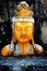 Buddha color Pyrography - Buddha color Fine Art Print - Tom Page - buddha-color-tom-page