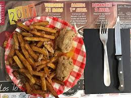 jeux de cuisine frite boudin noir frites maison picture of la cantine clermont ferrand