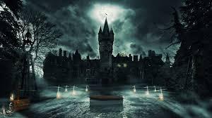 ghost castle wallpaper 768165