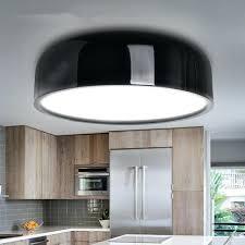 plafonnier pour bureau le led cuisine moderne plafond le led noir blanc rond