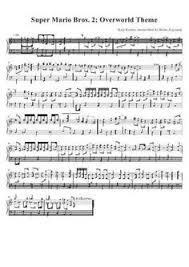 super mario bros jazzy theme partition gratuite musique