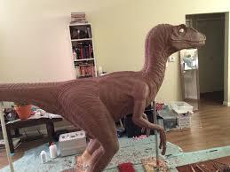 velociraptor costume size velociraptor suit sculpt stan winston school of