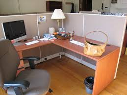 home priority compact office cubicle decoration with shabby workspace