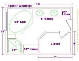 closet floor plans 8 types of master bathroom floor plans you to walls