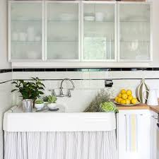 Glass Cabinets In Kitchen Frosted Glass Laundry Cabinets Design Ideas