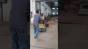 manual road sweeper youtube