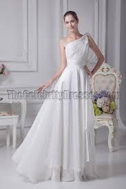 informal wedding dresses white one shoulder informal wedding dresses thecelebritydresses