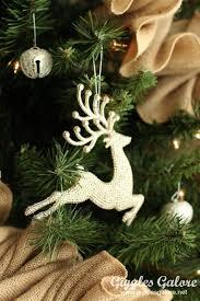 tree challenge rustic reindeer tree