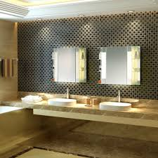 Midcentury Modern Bathroom by The Fairway Mid Century Modern Bathroom Mirrored Cabinet With