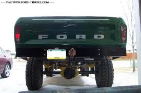 ford truck bumper home made rear bumpers ford truck enthusiasts forums