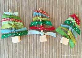 ribbon christmas tree ribbon christmas trees craft somewhat simple