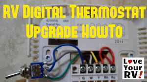 hunter 42999b rv thermostat upgrade youtube