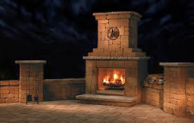 best outdoor fireplace kits in 2017 cookingscout