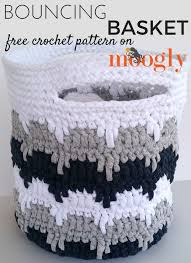 free crochet patterns for home decor bouncing basket free crochet crochet and patterns