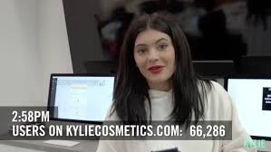 Kylie Jenner Gives Tour Of Kylie Jenner U0027s Lip Kit Sells Out In 16 Minutes And She Gives Fans