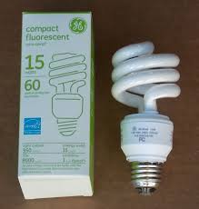 ge helical light bulbs 5pc general electric fle15ht3 helical 15w 120v compact fluorescent