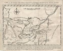 Map Of Canada And New York by Cayuga County Nygenweb Project Map Page