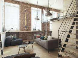 house tour a modern home decor with exposed brick walls