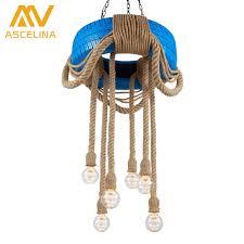 Wohnzimmer Lampe Drahtseil Aliexpress Com Loft Reifen Retro Amerikanischen Land Esszimmer
