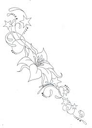 flower and star flourish henna in the summer pinterest