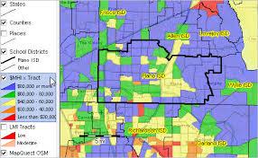 map plano plano isd demographic economic characteristics