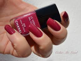 chanel le vernis 609 coup de coeur nail polish from variations