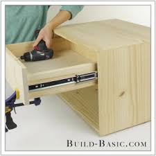 Build Basic Wooden Desk by Build A Diy Midcentury 2 Drawer Nightstand U2039 Build Basic