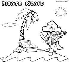 island coloring page pirate coloring pages coloring pages to download and print