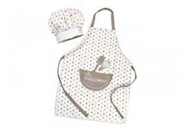 tablier et toque de cuisine tablier et toque de cuisine pour enfants scrapcooking cuisinstore