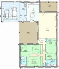 plan maison en l plain pied 4 chambres plan chambre marvelous 50 inspirant image plan maison plain pied 4