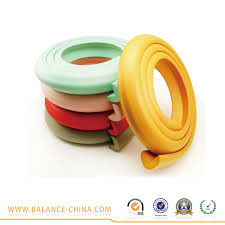 sharp edge rubber cover protection for baby home safety foam