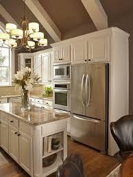 kitchen cabinets around fridge interior design