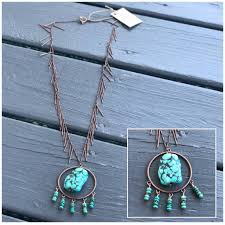 turquoise stone antique copper with turquoise stone vivan o u0027nay